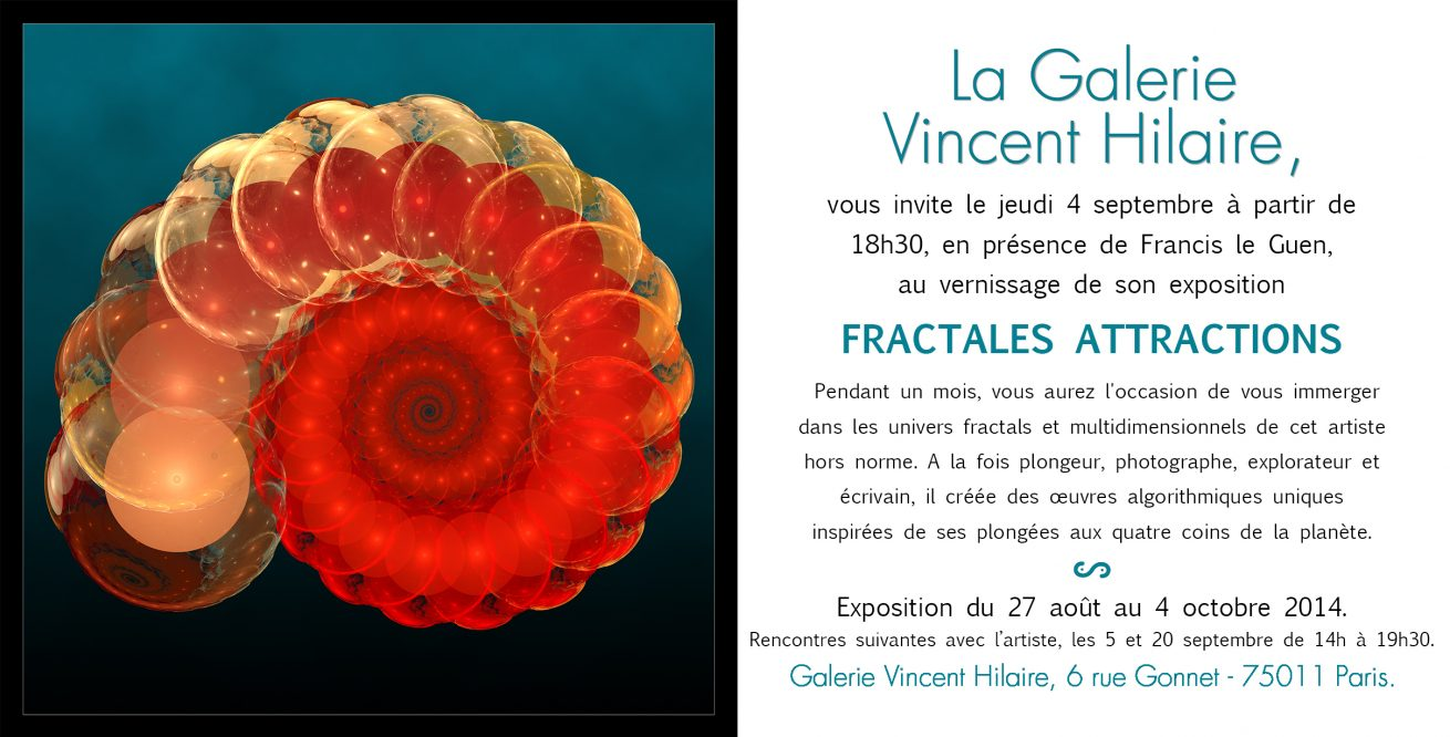 Flyer exposition Francis le Guen