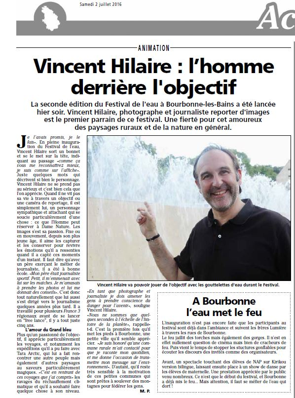 Article Journal de la Haute-Marne